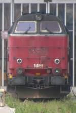 mz/120450/1451-steht-am-25810-im-bw 1451 steht am 25.8.10 im Bw Kopenhagen